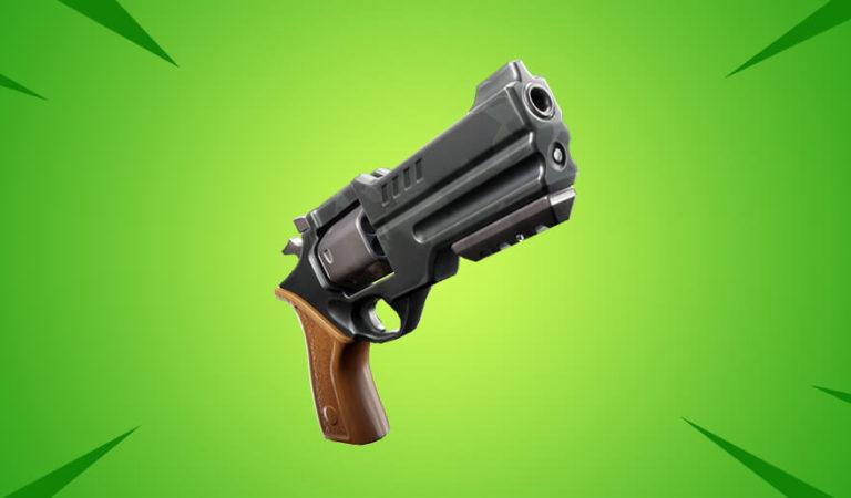 Rewolwer oficjalnie zapowiedziany, jako nowa broń w Fortnite!
