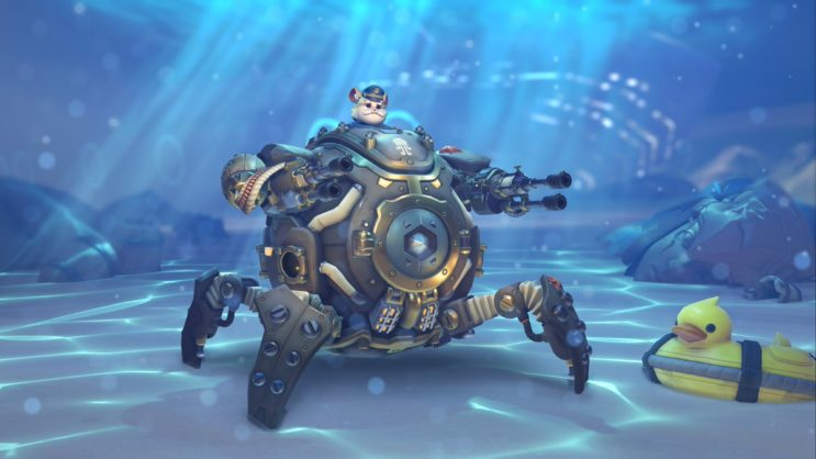 Czy nowa skórka Burzyciela może zapowiadać podwodną mapę w ...